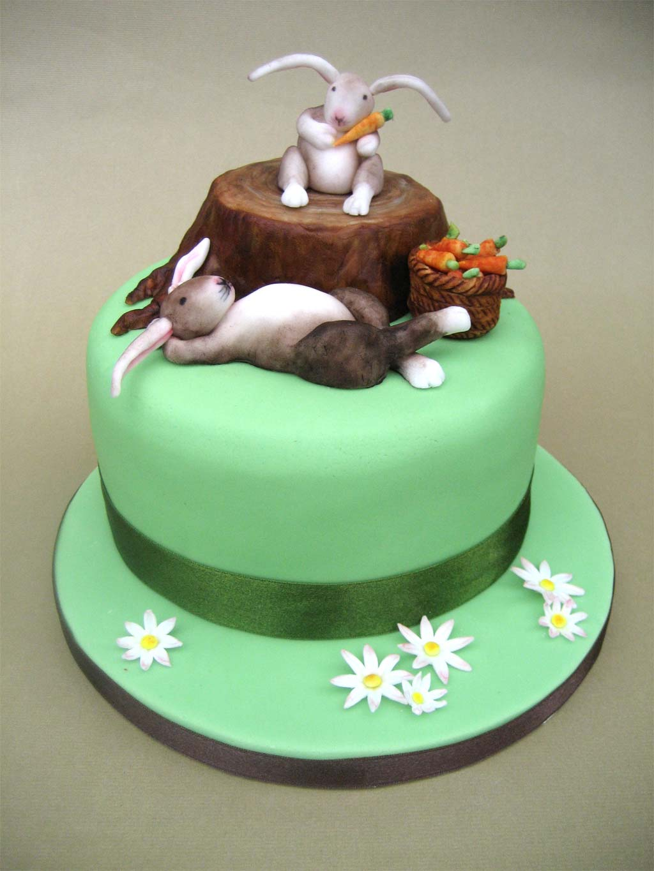 Sarah Rabbit Birthday Cake