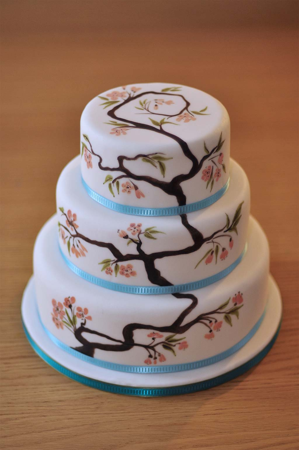 painted wedding cakes uk wedding cakes hardy 18106